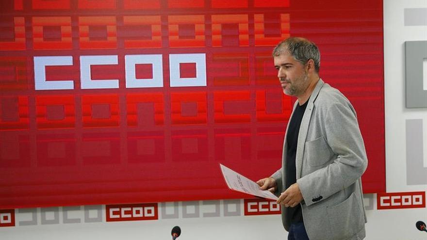 """Sordo (CCOO) dice que el seguimiento de la huelga en Cataluña ha sido """"escasísimo"""""""