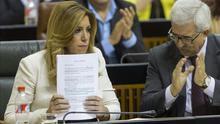 """El Parlamento de Andalucía pendiente del 24M: el punto muerto, el """"voto útil"""" y los nuevos"""