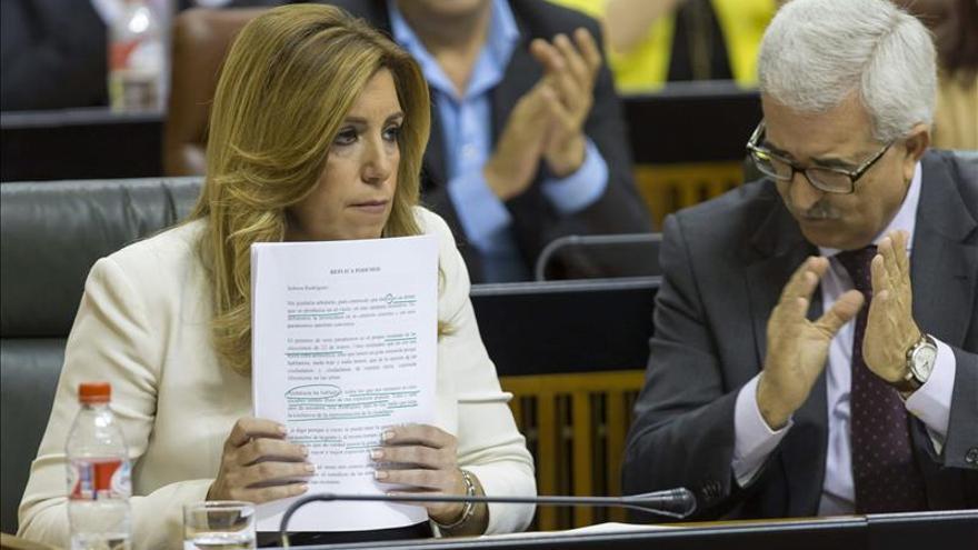 """Díaz pide al PP que no """"castigue"""" a los andaluces por un """"cálculo electoral"""""""