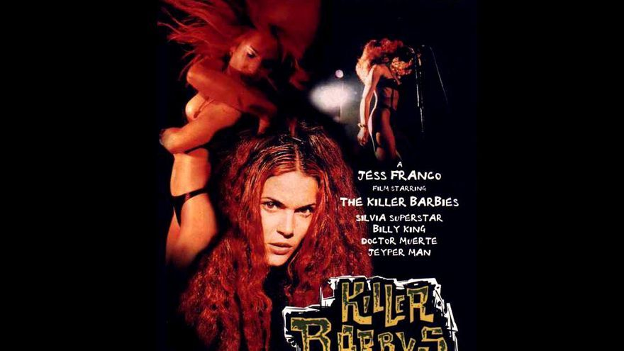 Cartel de la película 'Killer Barbys'(1996) de Jess Franco