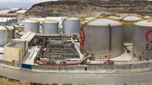Terminal de Oryx Iberia ubicada en el Puerto de La Luz y de Las Palmas.