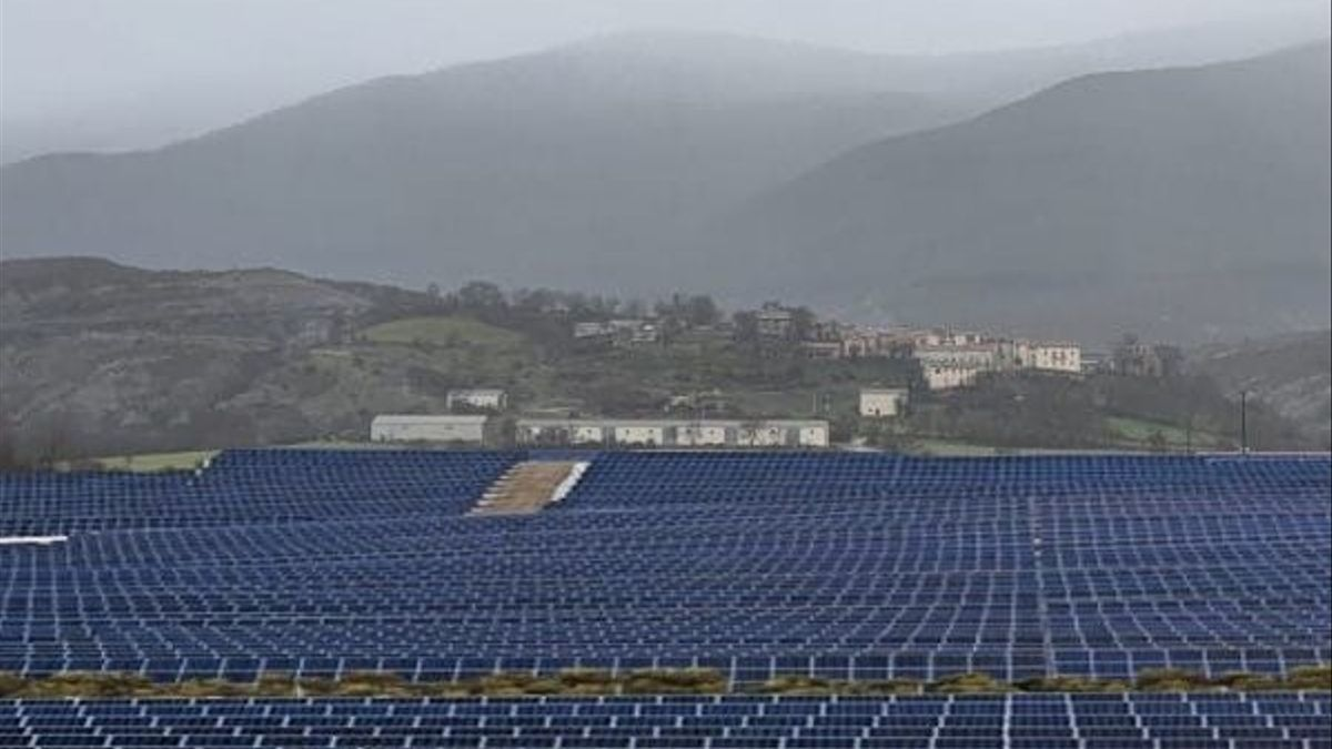 Mega parque de placas solares
