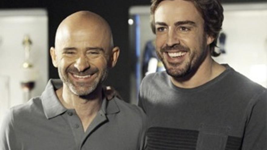 'Gran debut' de Lobato y 'alegría' por verle junto a Alonso