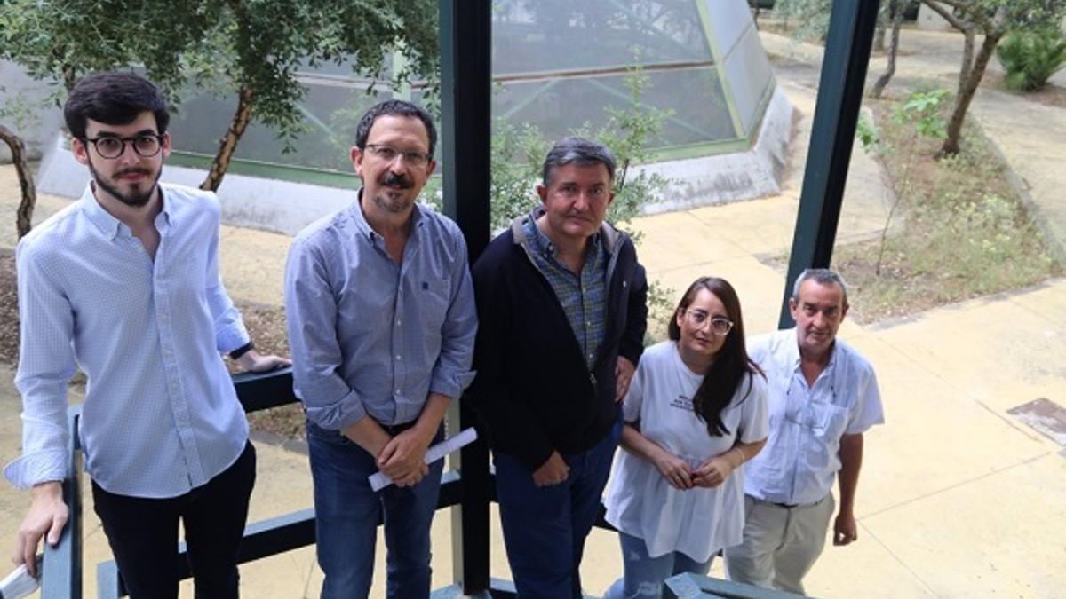 Miembros del grupo de Fisiología Vegetal.