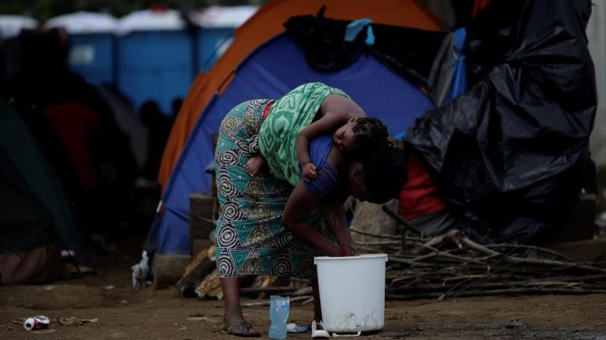 El drama de los migrantes que cruzan el Darién es visto a través del lente fotográfico
