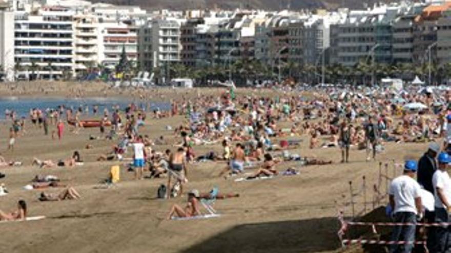 Playa de Las Canteras. (ACFI PRESS)