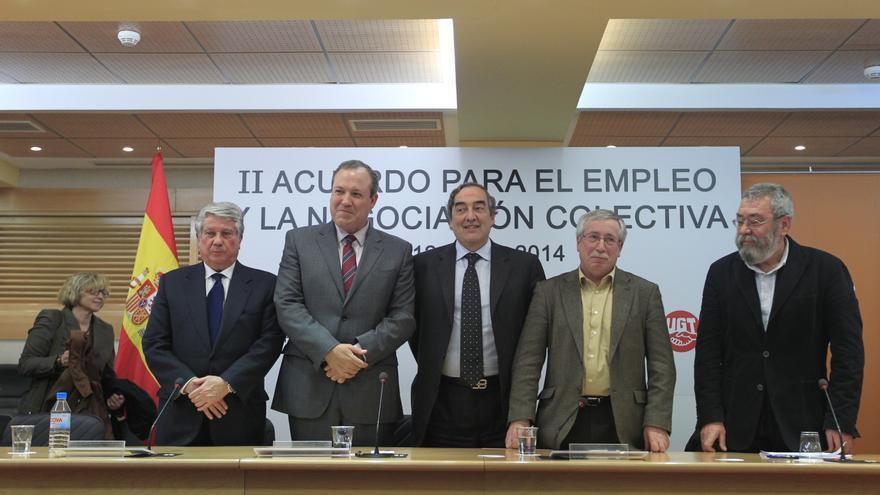 Patronal y sindicatos se reúnen hoy para revisar el cumplimiento del pacto salarial