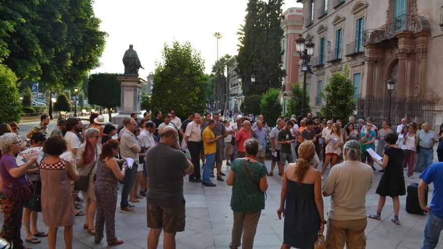 Primera asamblea de 'Ahora en Común' en Murcia