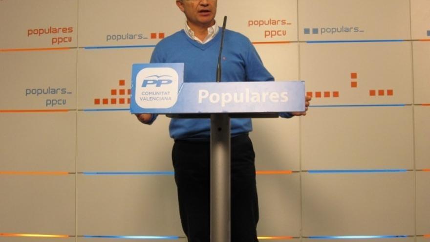 """PP valenciano dice que cuando se extinga RTVV darán a conocer los """"escenarios de hacer información en valenciano"""""""