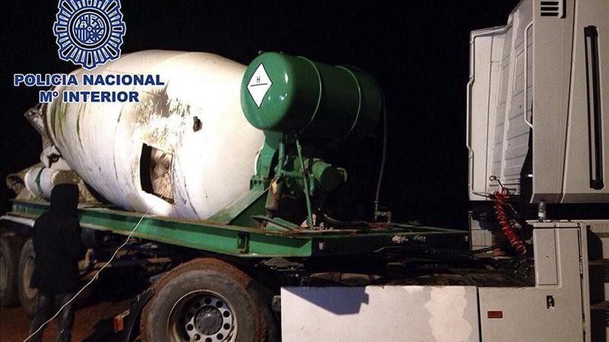 Interceptan una hormigonera en Portugal con dos  toneladas de hachís para España
