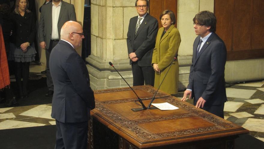Puigdemont invitó el lunes a salir del Gobierno catalán a los que duden del 1-O como Baiget