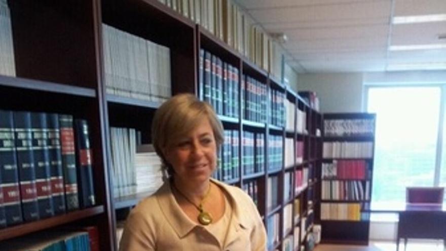 La presidenta de la Audiencia Provincial de Madrid, Ana Mª Ferrer