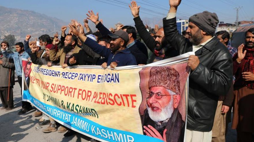 India pide no injerencia de Turquía en Cachemira tras los comentarios de Erdogan