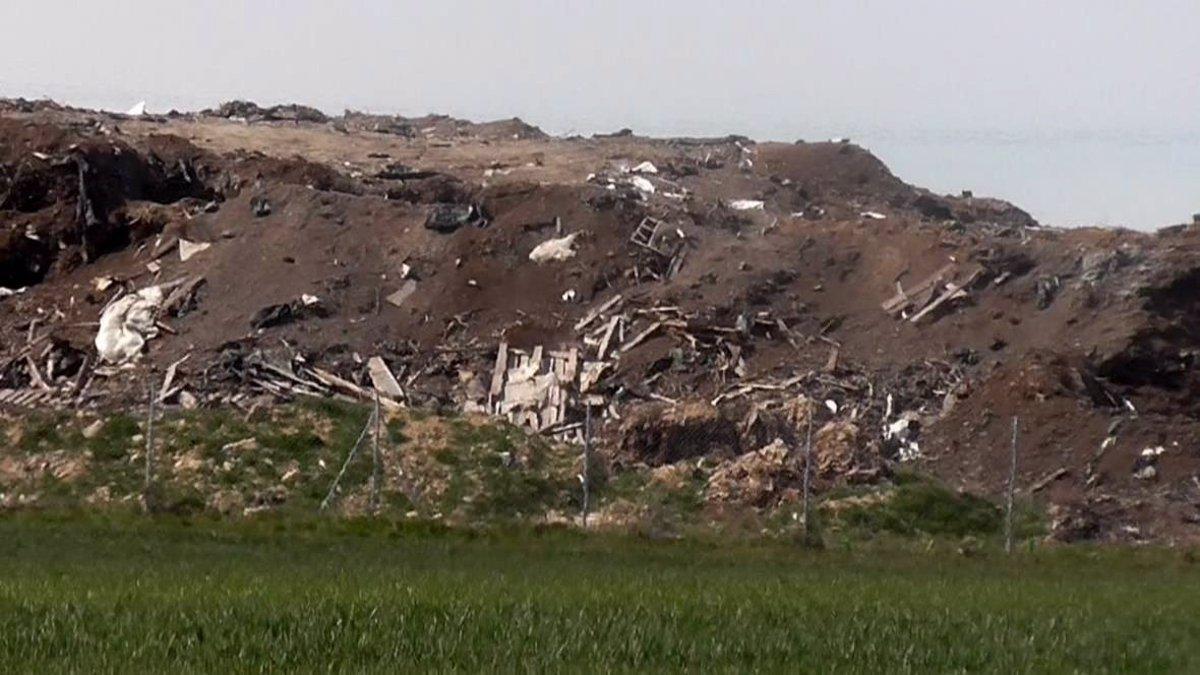 Vertidos en varios municipios de la comarca de Medina del Campo