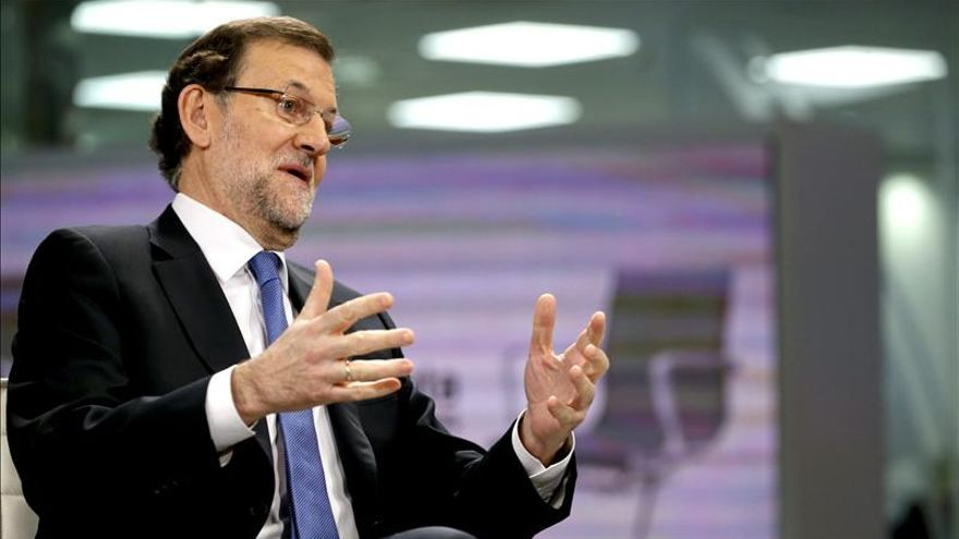 """Rajoy, """"animado"""" porque se ha roto la tendencia en la destrucción de empleo"""