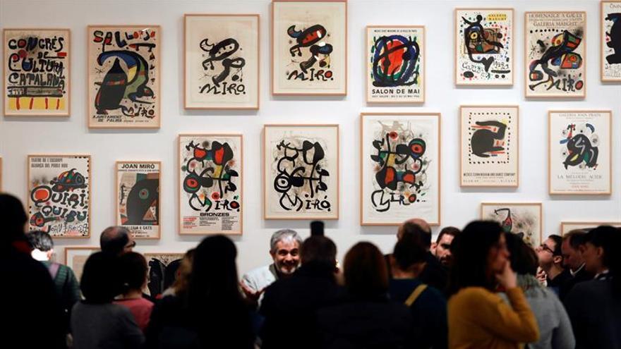 El IVAM presenta al Joan Miró más combativo, heterodoxo y radical