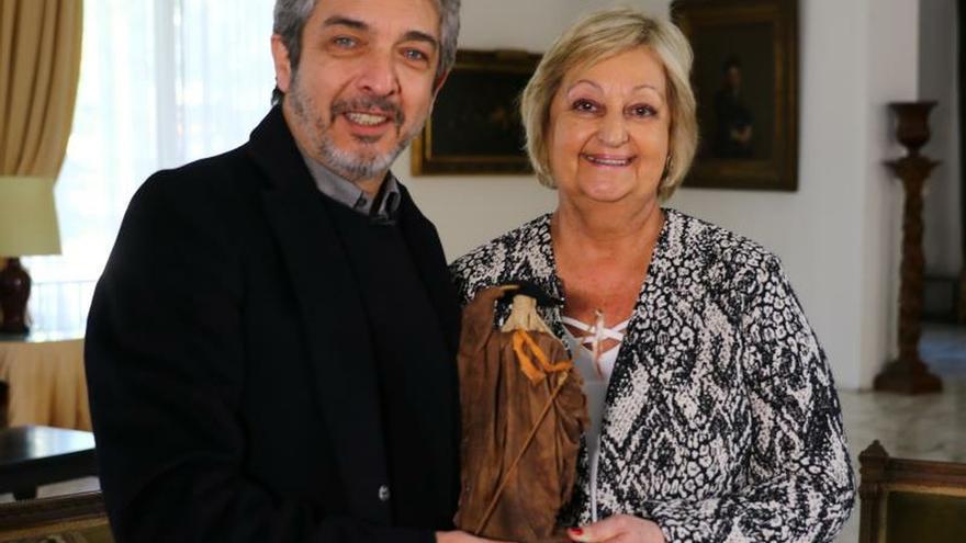 """Ricardo Darín, homenajeado con escultura """"El Gaucho"""" por relación con Uruguay"""