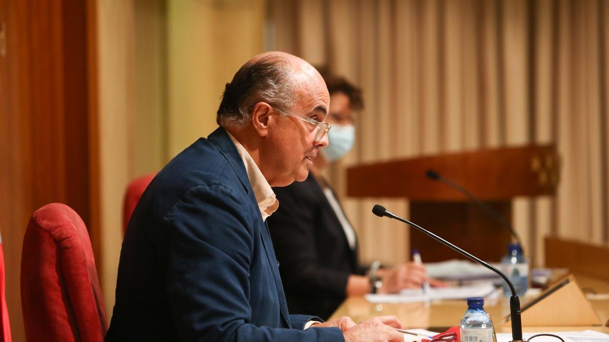 El viceconsejero de Salud Pública y Plan COVID-19 de la Comunidad de Madrid, Antonio Zapatero y la directora general de Salud Pública, Elena Andradas.