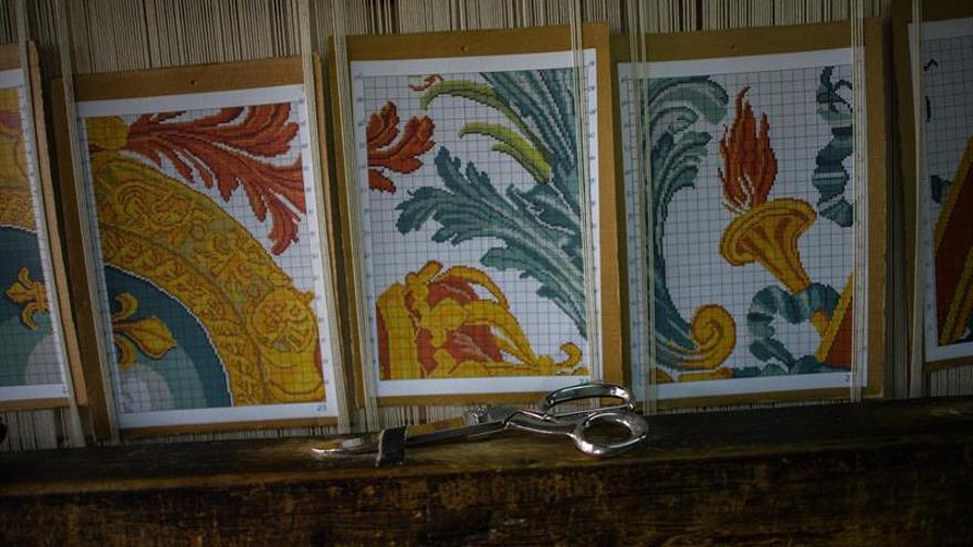 Kostandovo, la aldea búlgara donde nacen alfombras para Palacios Reales