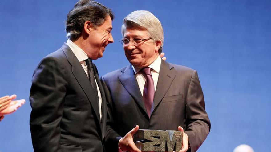 Ignacio González y Enrique Cerezo, en una imagen de archivo.
