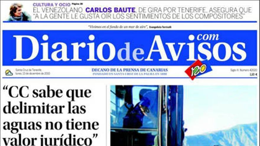 De las portadas del día (13/12/2010) #3