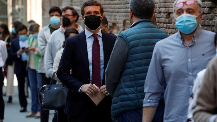 Casado vaticina que el 4 de mayo será un punto de inflexión para España