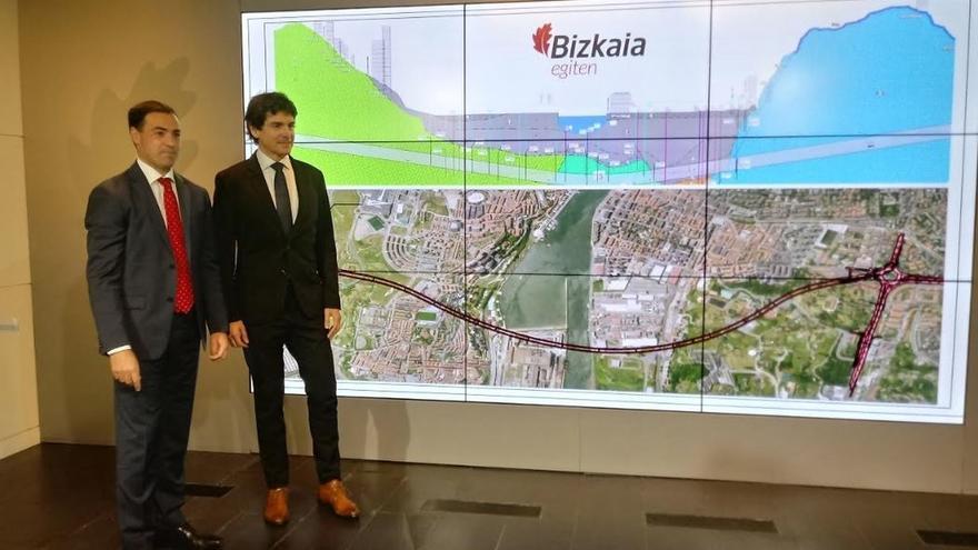 Diputación de Bizkaia licita el proyecto de construcción del túnel subfluvial de la Ría por 10,4 millones