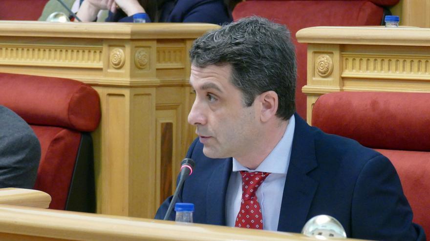 Esteban Paños, concejal de Ciudadanos en Toledo