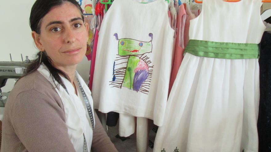 Resultado de imagen de la artesana gallega afincada en la palma martina gonzález