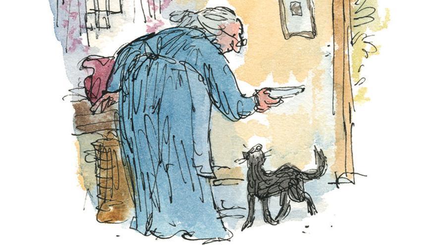 Ilustración de Quentin Blake