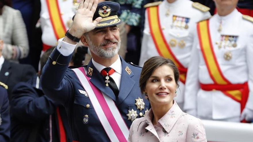 Logroño se vuelca con los Reyes y los militares en el Día de las Fuerzas Armadas