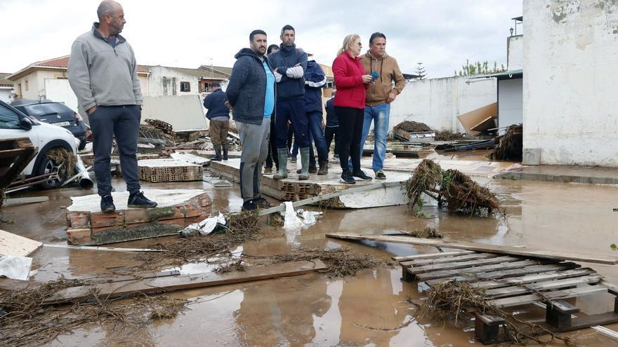 Ascienden a 335 las incidencias registradas en la provincia de Málaga debido a las precipitaciones