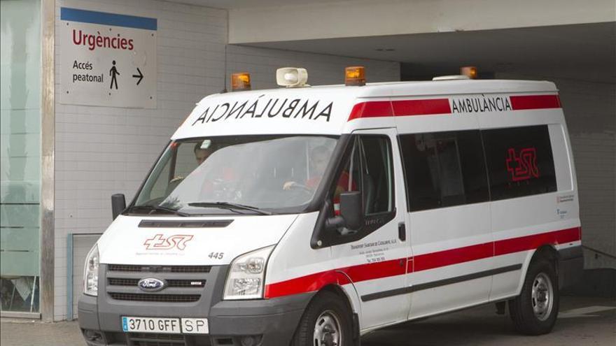 Un taxi a gas explota en Barcelona y causa al menos un herido