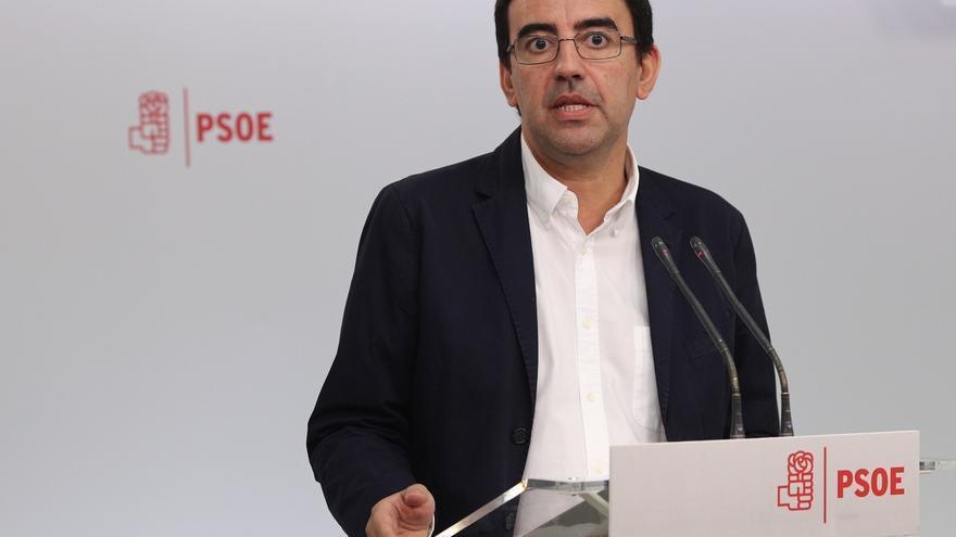 """Portavoz de la gestora del PSOE apuesta por una relación """"equilibrada"""" y """"simétrica"""" con el PSC"""
