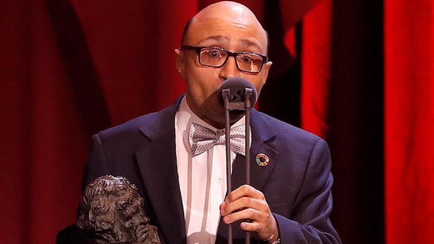 Jesús Vidal, premio Goya 2019 al mejor Actor Revelación. EFE