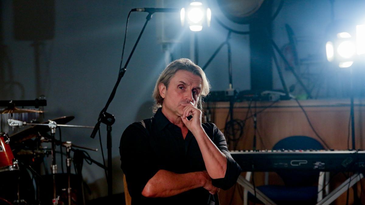 El músico Nacho Cano durante una entrevista con Europa Press.