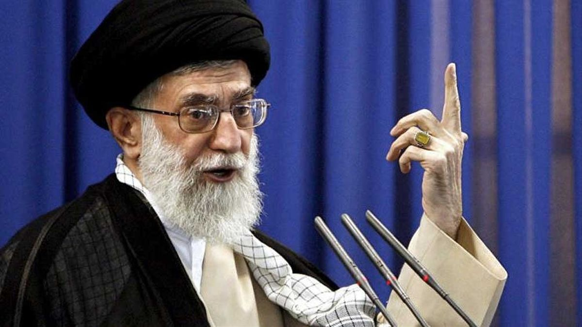 El líder supremo de Irán, Ali Jamenei.