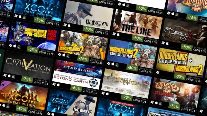 Steam Games.