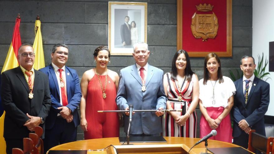 Grupo municipal de La Aldea de San Nicolás.