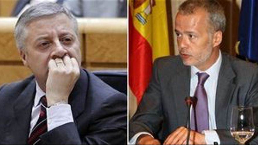 José Blanco y Antonio Camacho. (EUROPA PRESS)