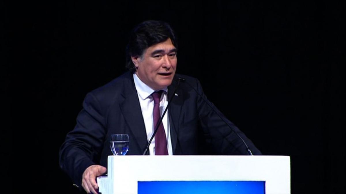 El procurador del Tesoro, Carlos Zannini.