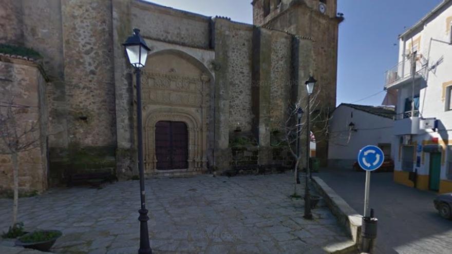 Iglesia parroquial de Arroyomolinos de Montánchez