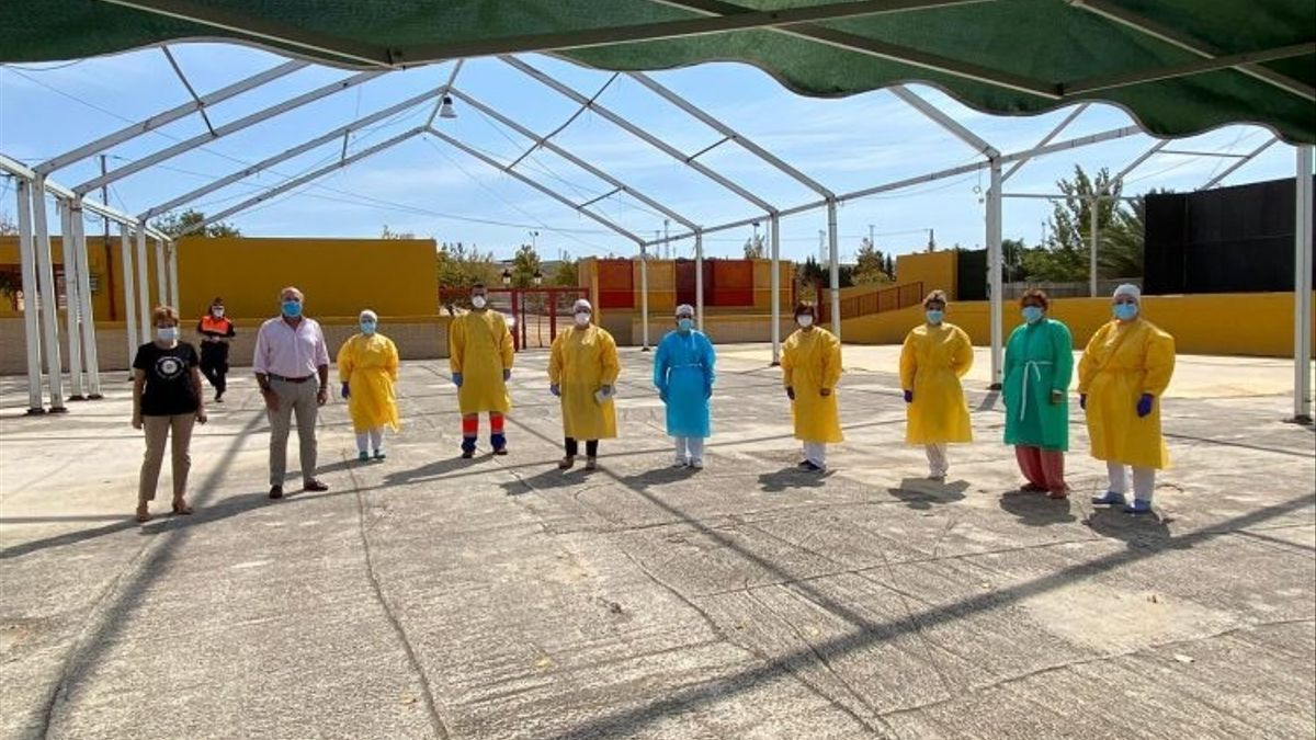 Los test de cribado a la población de Casariche (Sevilla) se amplían a este lunes