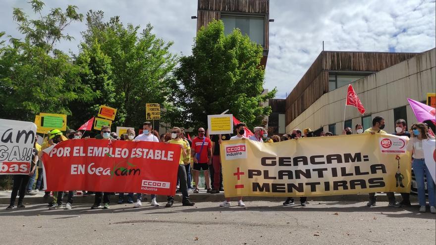 El conflicto laboral en GEACAM se recrudecerá en agosto: CCOO y SATIF convocan nuevos paros y dos manifestaciones en Toledo