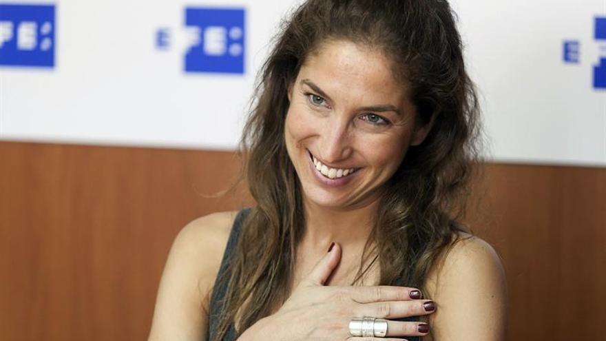 La bailarina, actriz y coreógrafa tinerfeña, Paula Quintana. Efe