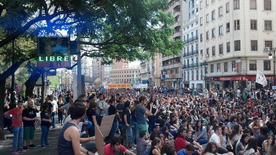 Manifestación del 24O EN Valencia/@ToniElSucio