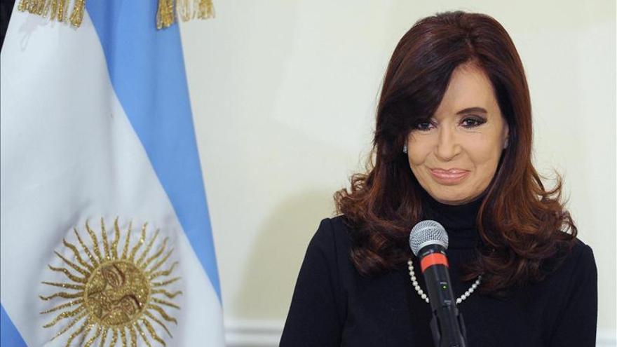 La presidenta argentina descarta una devaluación del peso