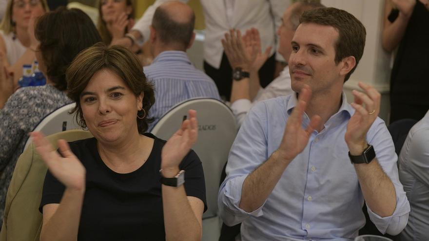 """El equipo de Casado rechaza """"enérgicamente"""" el vídeo contra Santamaría y se desvincula de ese """"ataque anónimo"""""""
