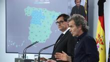 El 70 por ciento de la población española estará el lunes en la fase 2