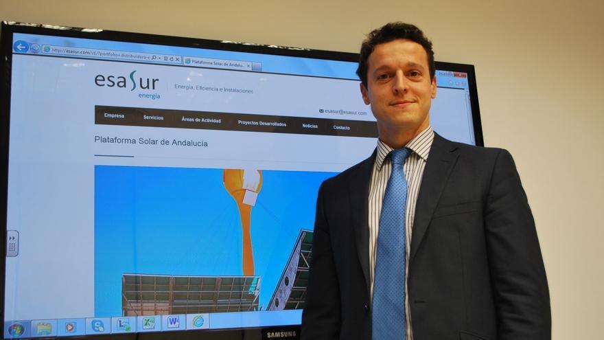 Daniel Delgado, licenciado en Ingeniería de Caminos en 2006, está buscando trabajo en Londres